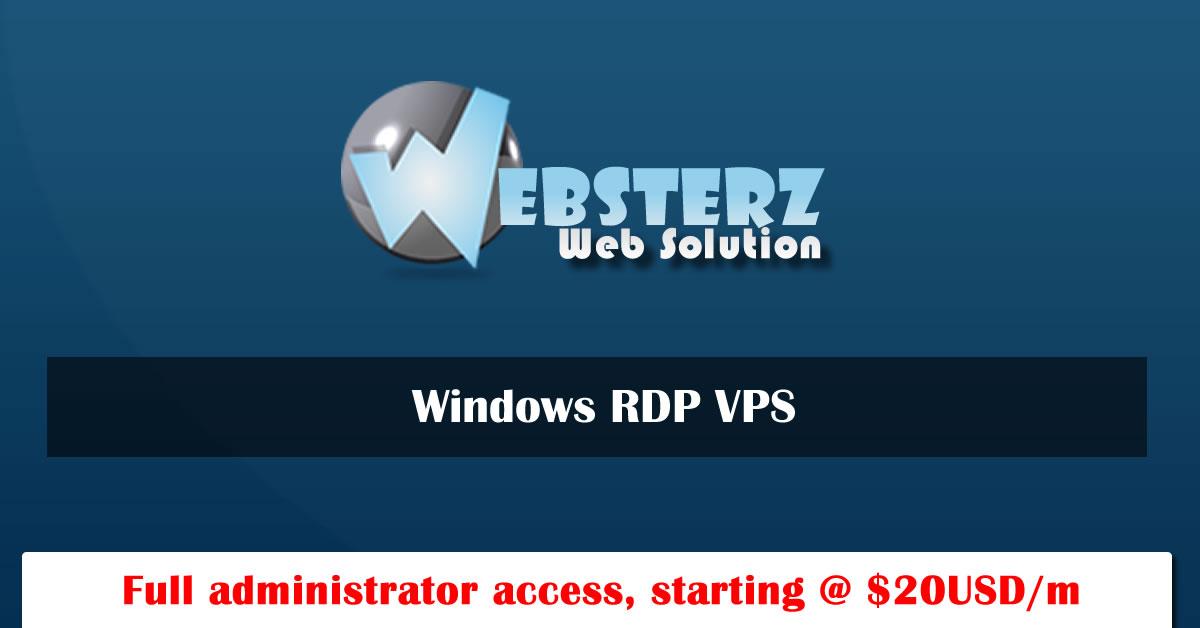 Window VPS | Window 512mb Ram VPS | Window 1Gb Ram VPS